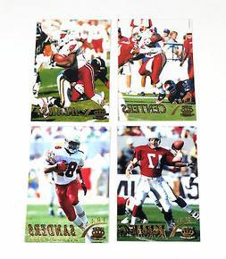1996 Pacific Gridiron Football Arizona Cardinals Gold Parall