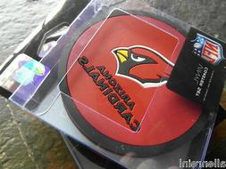 2 - 4 Packs Vinyl Drink Coasters - Arizona Cardinals - Box