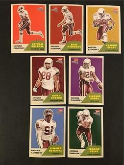 2002 Fleer Platinum Arizona Cardinals Base Team Set 7 Cards