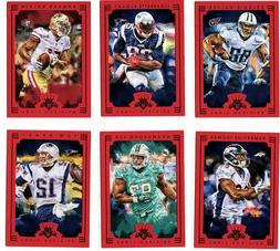 2015 Panini Gridiron Kings Red Framed SP Parallels  ~ Comple