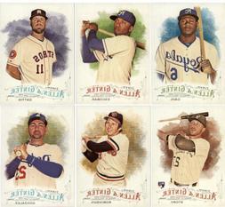 2016 Topps Allen and Ginter Baseball - Base Set Cards - Pick