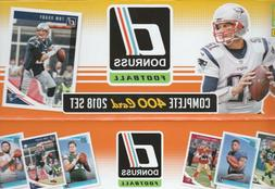 2018 DONRUSS NFL FOOTBALL COMPLETE  TEAM SETS W/ ROOKIES YOU