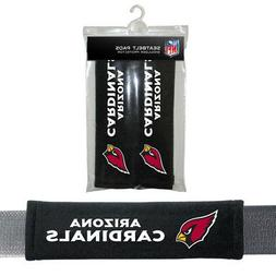 2PC NFL Arizona Cardinals Car Truck Bag Seat Belt Pads / Sho