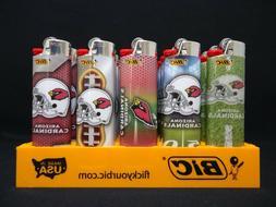 8 Bic Lighters Arizona Cardinals NFL Football Disposable