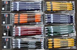 NFL Click Pens Plain Color  Black Ink Official Licensed