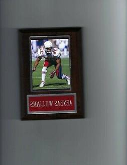 AENEAS WILLIAMS PLAQUE ARIZONA CARDINALS FOOTBALL NFL