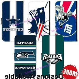 American Football Sports Team PU Leather Wallet Case for Gal