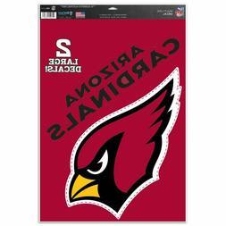 "Arizona Cardinals 11"" x 17"" Multi Use Decals - Auto, Walls,"