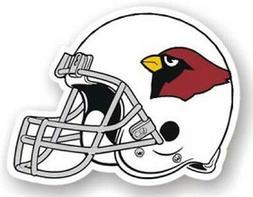 """Arizona Cardinals 12"""" Helmet Car Magnet  NFL Vinyl Auto Embl"""