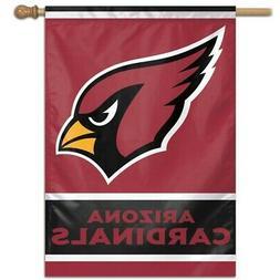 "ARIZONA CARDINALS 28""X40"" BANNER FLAG BRAND NEW WINCRAFT"