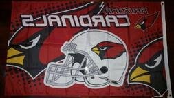 Arizona Cardinals 3x5 Flag. US seller. Free shipping within