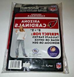 ARIZONA CARDINALS  8' X 2' BANNER 8 FOOT HEAVYWEIGHT NYLON S