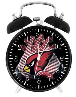 ARIZONA CARDINALS Alarm Desk Clock Home or Office Decor F13