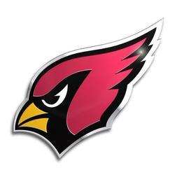 Arizona Cardinals Color Auto Emblem - Die Cut
