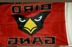 arizona cardinals bird gang az fan black