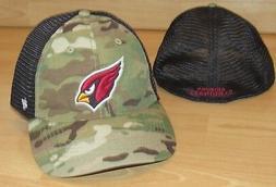 Arizona Cardinals Camo Mesh Back Flex Fitted Hat Cap Men's s