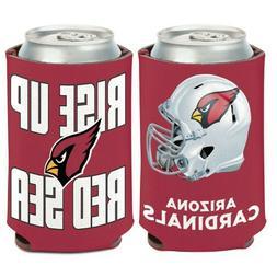 Arizona Cardinals Can Cooler Slogan Design 12oz Collapsible