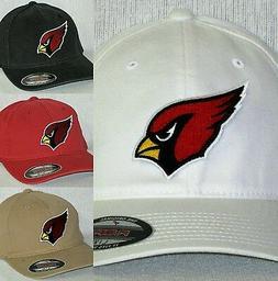 """Arizona Cardinals """"FLEX FIT"""" CAP 🏈HAT 🏈CLASSIC NFL PAT"""
