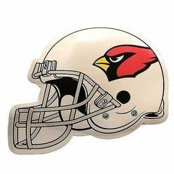 Arizona Cardinals car auto SET OF 2 CHROME FINISH Helmet Mag