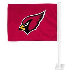 Arizona Cardinals Car Flag 12 x 15 Double Sided All Pro Desi