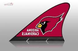 Arizona Cardinals Car Flag, CARFIN  Magnetic Car Flag.