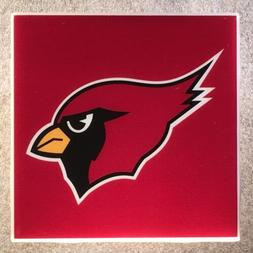 arizona cardinals coaster custom ceramic tile