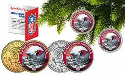 ARIZONA CARDINALS Colorized JFK Half Dollar 2-Coin Set NFL C