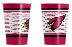 Arizona Cardinals Disposable Paper Cups - 20 Pack  NFL Party