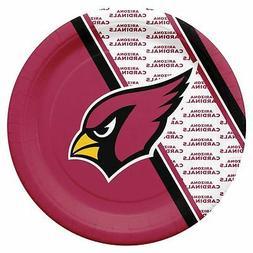 Arizona Cardinals Disposable Paper Plates - 20 Pack  NFL Par