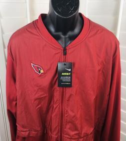 arizona cardinals dri fit 1 2 zip
