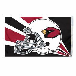 arizona cardinals flag 3 x5 nfl helmet