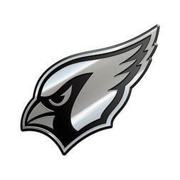 Arizona Cardinals Heavy Duty Metal Auto Emblem  NFL Car Truc