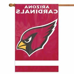ARIZONA CARDINALS House Banner Flag PREMIUM Outdoor DOUBLE S