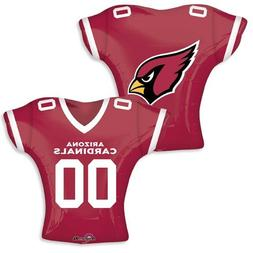 Anagram International Arizona Cardinals Jersey Flat Party Ba