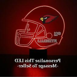 Arizona Cardinals Light Up, NFL Football LED Sports Fan Lamp