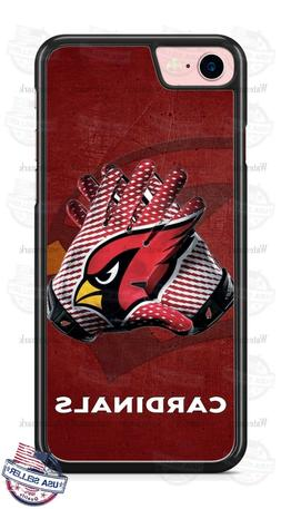 Arizona Cardinals Logo Gloves Phone Case Cover Fits iPhone S