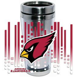 arizona cardinals logo travel mug tumbler stainless