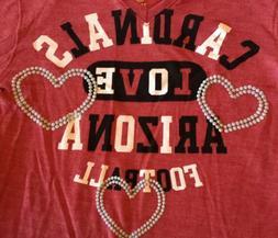 Arizona Cardinals Long Sleeve Girls Tee Shirt from NFL Team
