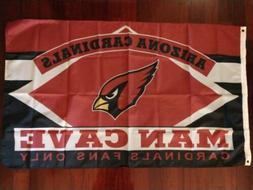Arizona Cardinals Man Cave 3x5 Flag. US seller. Free shippin