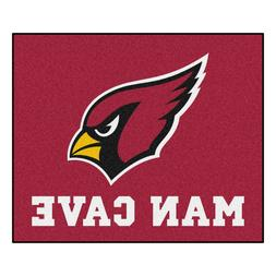 Arizona Cardinals Man Cave 5' X 6' Tailgater Area Rug Floor