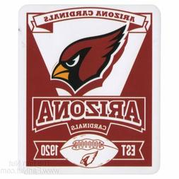 Arizona Cardinals Marquee Large Lightweight 50x60 Fleece Thr