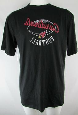 Arizona Cardinals NFL Team Apparel Men's Black Short Sleeve