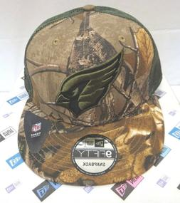 Arizona Cardinals Men's New Era M/L 9FIFTY Realtree Camo Sna