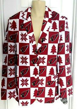ARIZONA CARDINALS Mens Blazer Size 44 Jacket Suit Coat Ugly