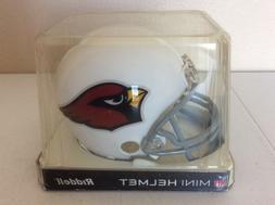 Arizona Cardinals Riddell Mini Helmet White NIB