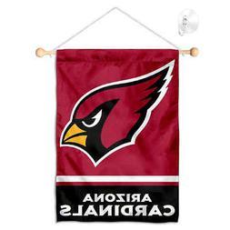 Arizona Cardinals Mini Window Banner Hanging with Suction Cu