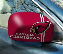 Arizona Cardinals Mirror Cover 2 Pack - Small Size  NFL Car