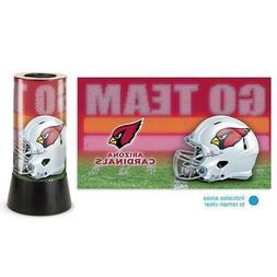"""Arizona Cardinals NFL Wincraft 12"""" High Rotating Lamp FREE S"""