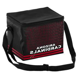 Arizona Cardinals NFL 6 pack Cooler Lunch Box Bag Insulated
