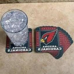 ARIZONA CARDINALS - NFL Absorbent Paper Coasters :Set of 8 P